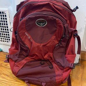 Osprey Ozone 46L Day Pack (Crimson Red)